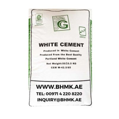 White cement BHMK - Main Page