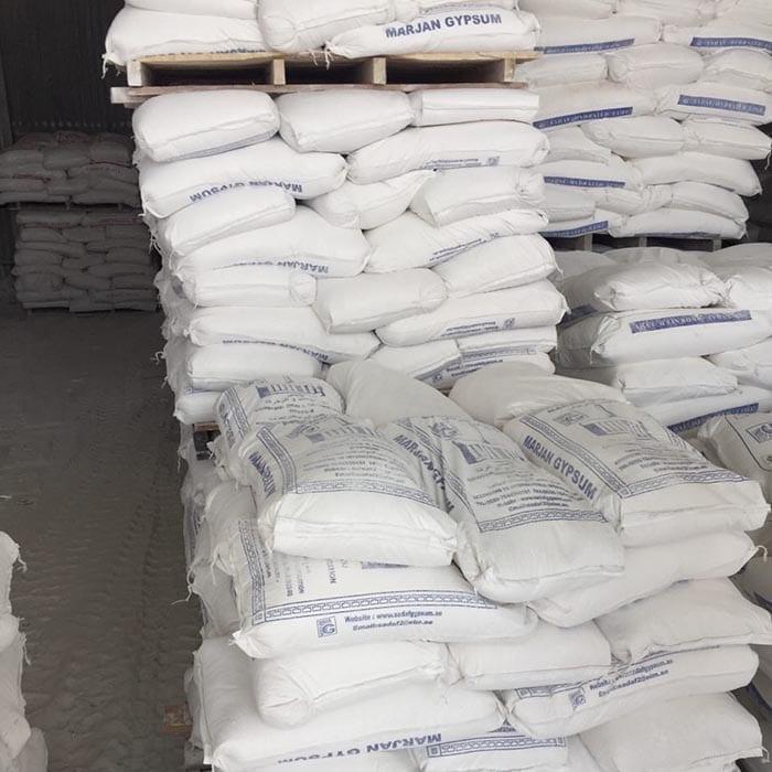 Gypsum powder plaster of paris bhmk building materials for Red top gypsum plaster