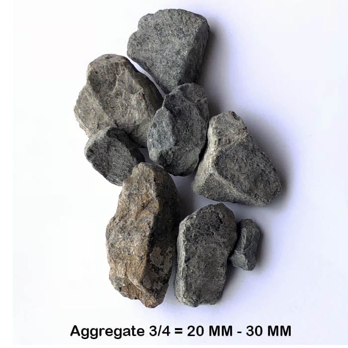 Aggregate 3/4 gravel BHMK Dubai UAE