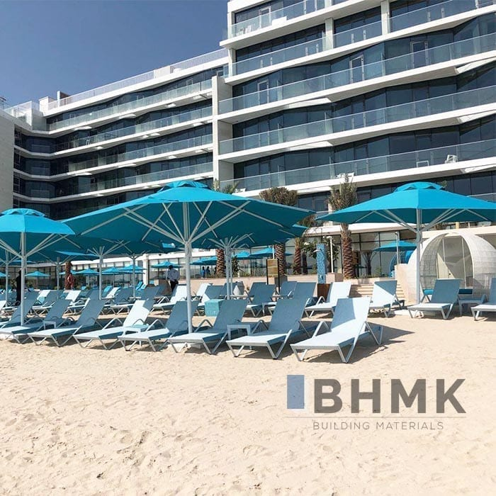 White sand beach sand bhmk building materials trading for Beach house construction materials