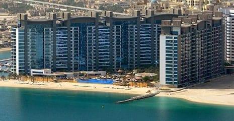 Oceana Beach profiling Beach Sand Dubai UAE BHMK