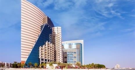 Rotana Khalidiya Palace Beach profiling beach sand supply Abu Dhabi Dubai UAE