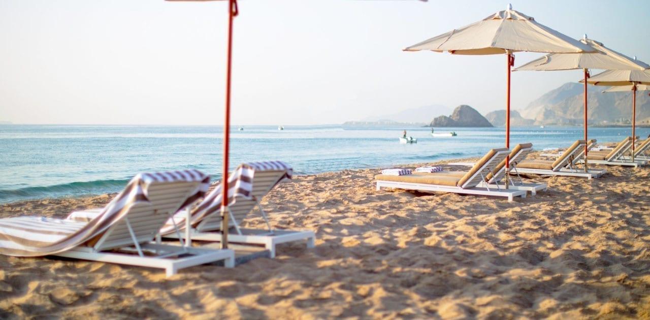 Intercontinental Hotel Al Aqah Fujairah beach sand supplier BHMK dubai uae