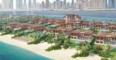 XXII Villas Dubai Palm Jumeirah Beach renovation beach cleaning beach profiling beach sand supplier company uae