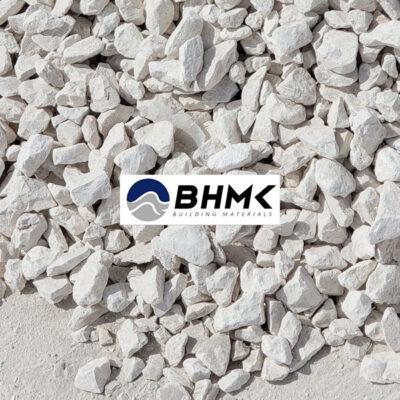 Off white omani gravel Aggregate limestone Dubai UAE BHMK MKBH